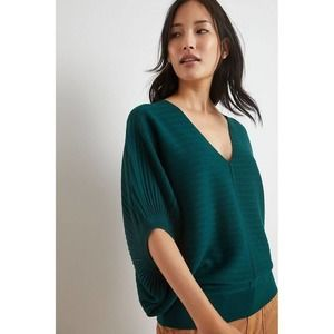 Anthropologie Fabiola Poncho Pullover Small